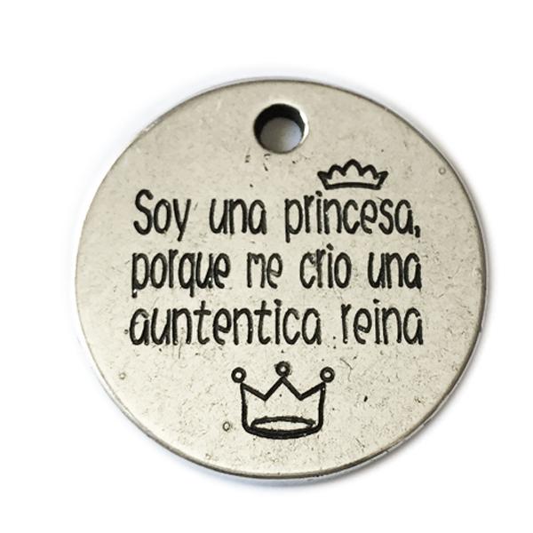 soy princesa porque me crio una reina