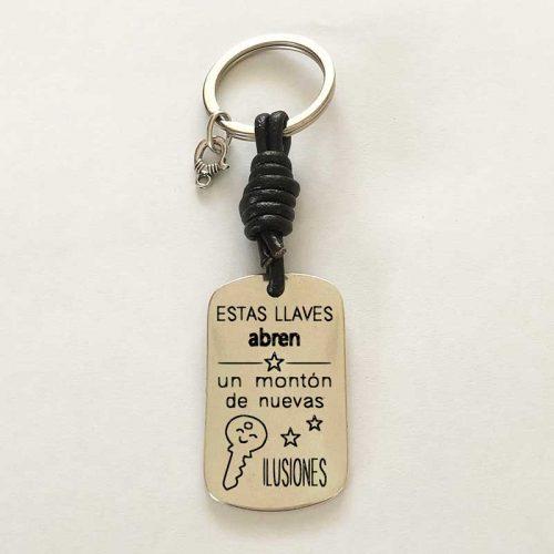 Llavero personalizado : Estas llaves abren ilusiones