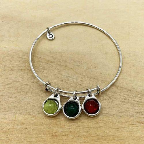 Minimalista Verde+pistacho+roja
