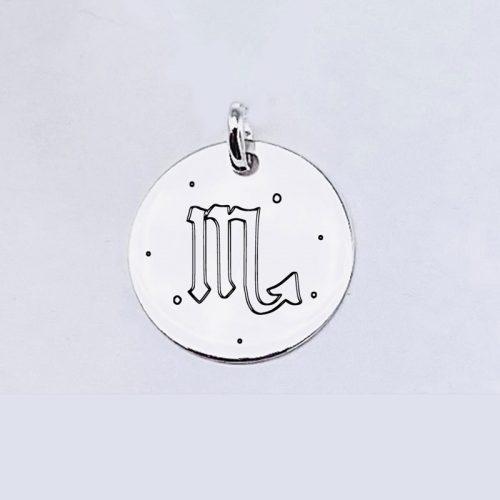 Medalla Personalizada de 22 mm Escorpio
