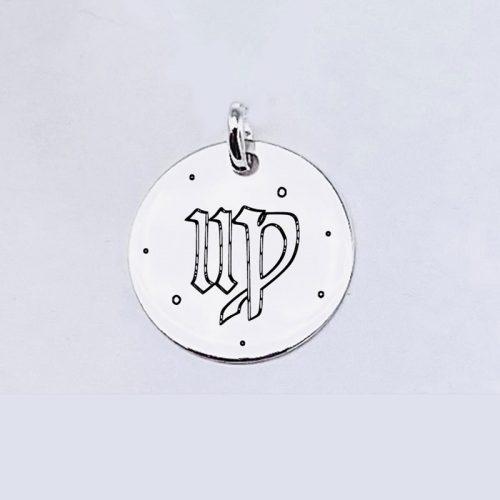 Medalla Personalizada de 22 mm Virgo