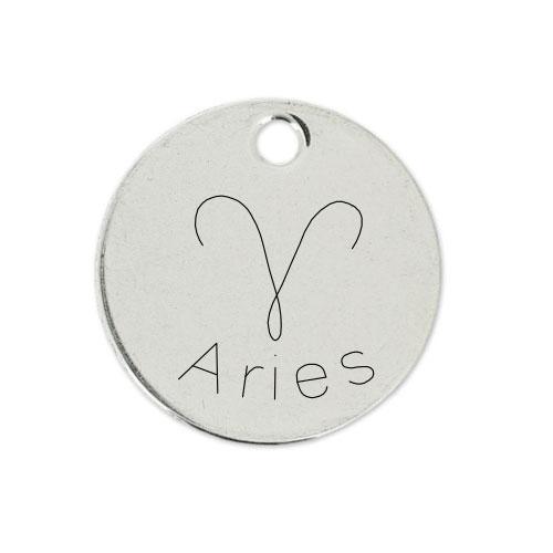 Medalla Personalizada de 22 mm Aries D