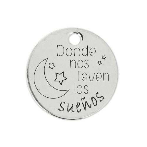 Medalla Personalizada de 22 mm Llueven los Sueños