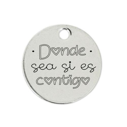 Medalla Personalizada de 22 mm Donde sea