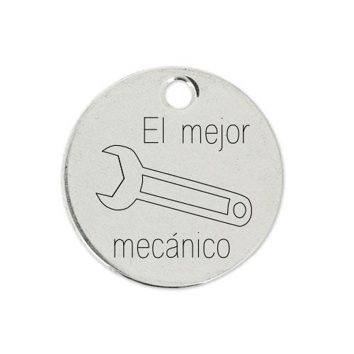 Medalla Personalizada de 22 mm El Mejor Mecánico