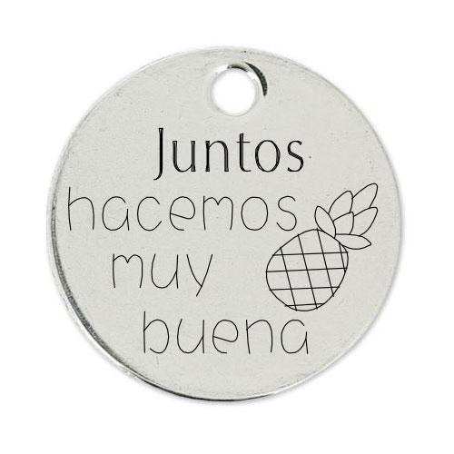 Medalla Personalizada de 22 mm Buena Piña