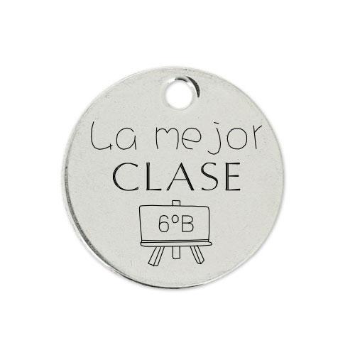 Medalla Personalizada de 22 mm La Mejor Clase