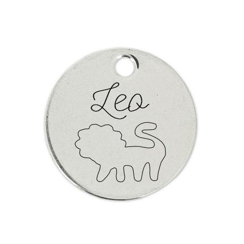 Medalla Personalizada de 22 mm Leo D