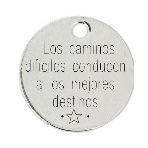 Medalla Personalizada de 22 mm Los Caminos