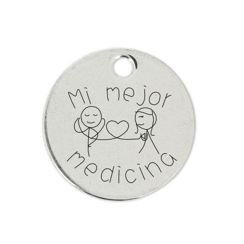 Medalla Personalizada de 22 mm Medicina