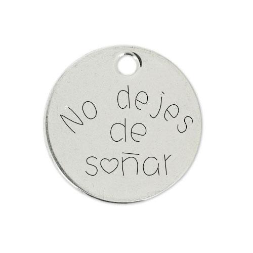 Medalla Personalizada de 22 mm No dejes de Soñar