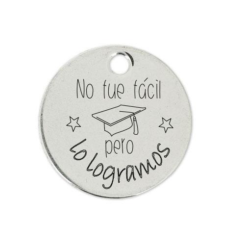 Medalla Personalizada de 22 mm Lo Logramos