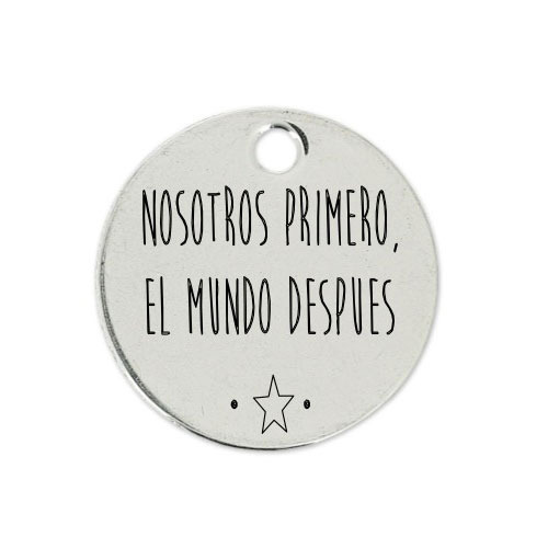 Medalla Personalizada de 22 mm El mundo Después