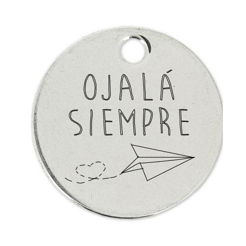 Medalla Personalizada de 22 mm Ojala