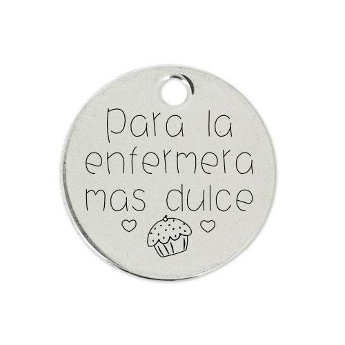 Medalla Personalizada de 22 mm La Enfermera más Dulce