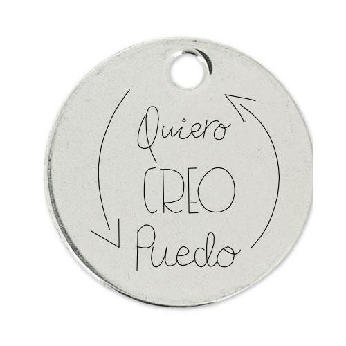 Medalla Personalizada de 22 mm PCQ