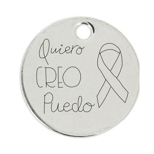 Medalla Personalizada de 22 mm QCP
