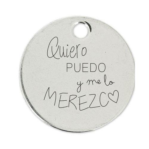Medalla Personalizada de 22 mm QPM