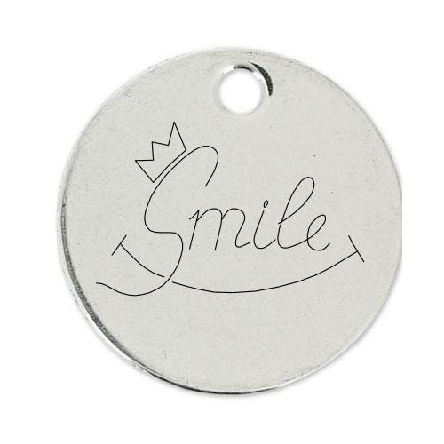 Medalla Personalizada de 22 mm SMILE